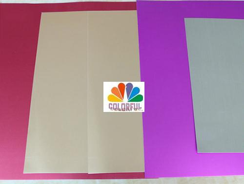 彩色包装双面复合金银卡纸