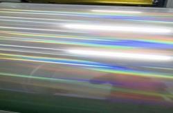 手机外壳  灯具壳专用光柱 心形镭射膜