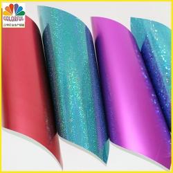 防紫外线镭射纸